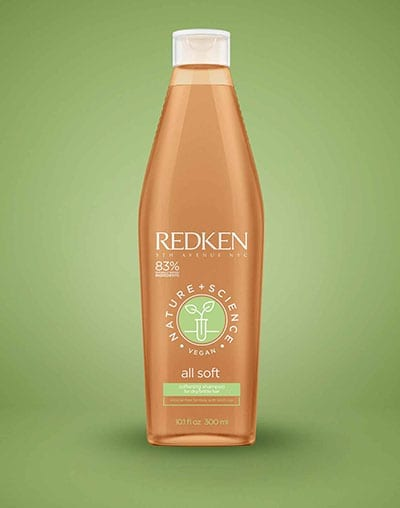 Redken Nature & Science All Soft Shampoo 10.1oz | Mallory Cook