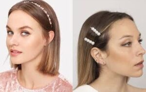 Holiday Hairstyles Pearl Headbands by Mallory Cook #mmcstyle