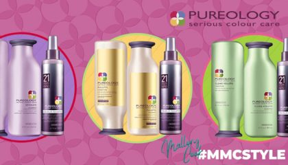 Mallory Cook #MMCSTYLE Pureology Hair Care Products Madison