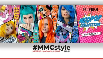 MMCstyle Hair Salon in Downtown Madison New Pulp Riot NeoPop Collection
