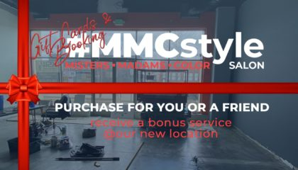 Opening Soon MMCstyle Salon Getting Painted - Gift Card Sale (Featured Image)