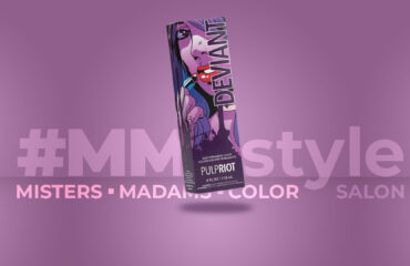 Madison Hair Color by #MMCstyle Salon adds Pulp Riot NeoPop Deviant Purple Hair Color