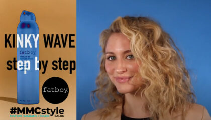 Soft Curls and Wave Hair Style for Mid-Length Haircuts at #MMCstyle Salon in Madison