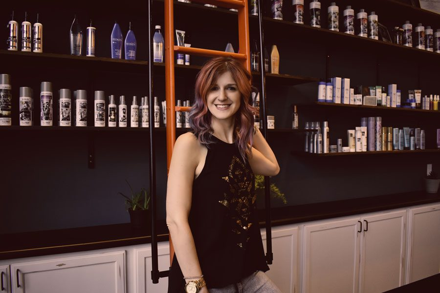 Mallory Cook Hair Stylist at #MMCstyle Salon in Downtown Madison WI (Bio Pic)