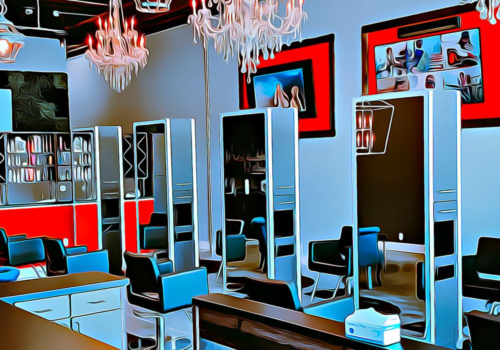 #MMCstyle Hair Salon at 1016 E Washington Ave Madison WI (interior of salon)